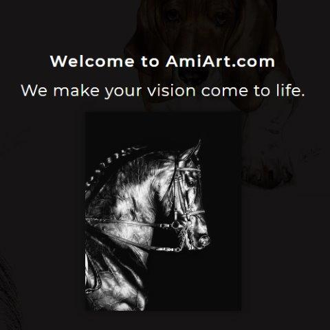 Horse landing page.