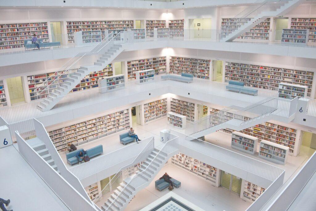 German library.