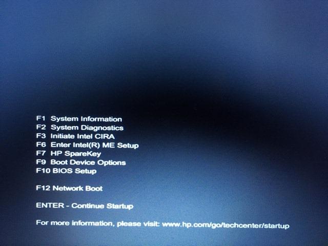 Windows BIOS menu.